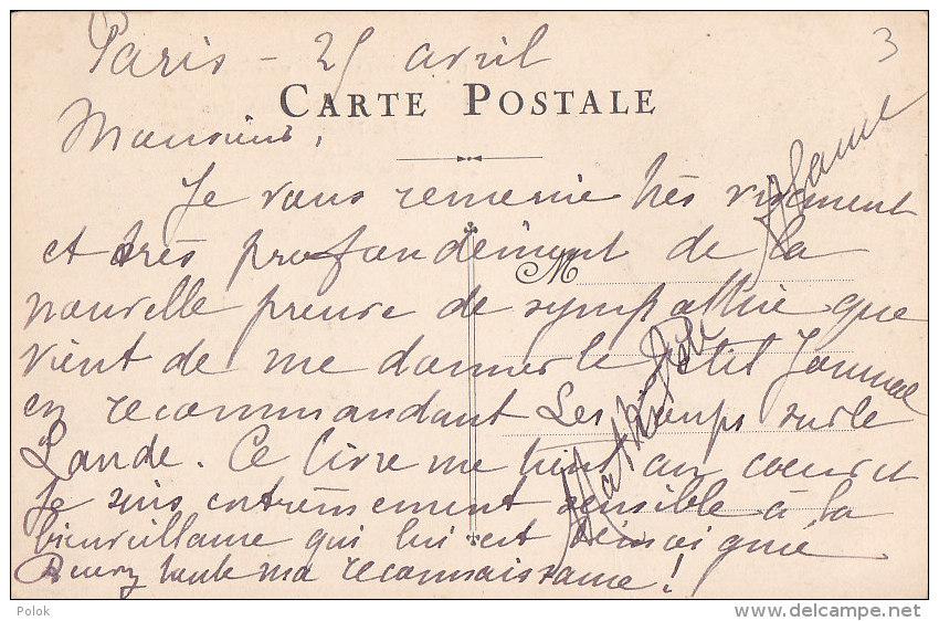 Cpa Oeuvres De Mathilde ALANIC - Ecrivains