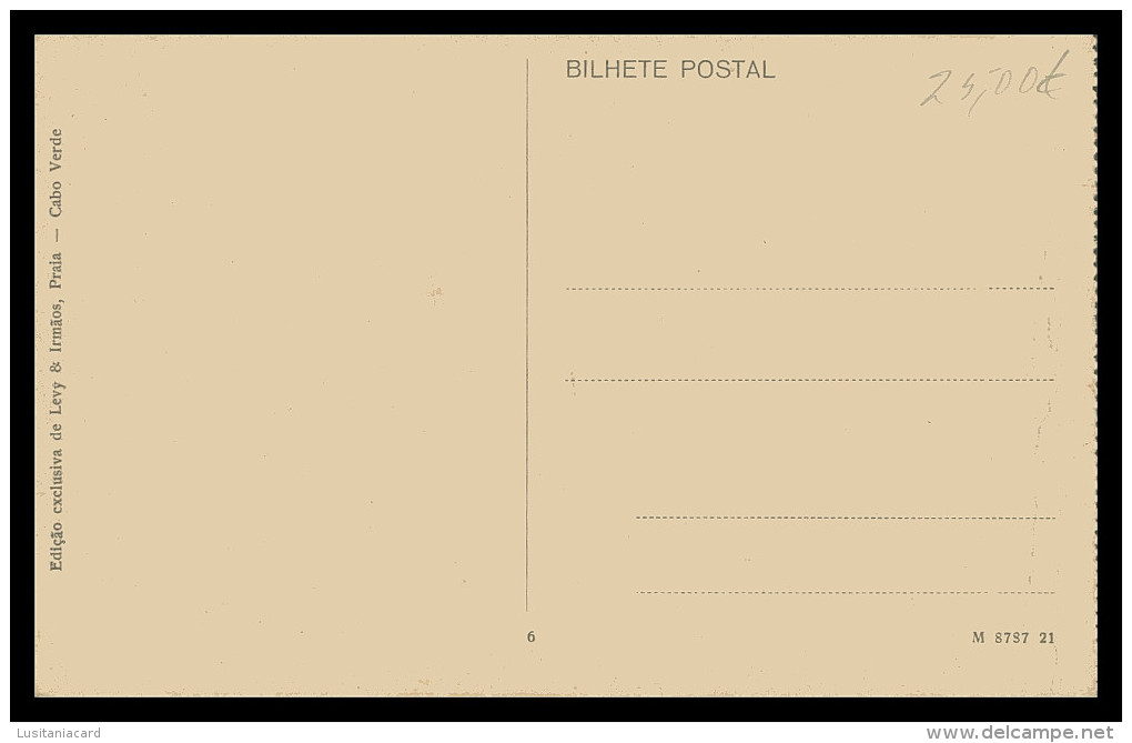 SANTIAGO - PRAIA - Rua Sá Da Bandeira ( Ed. Levy & Irmãos Nº 6)  Carte Postale - Cap Vert