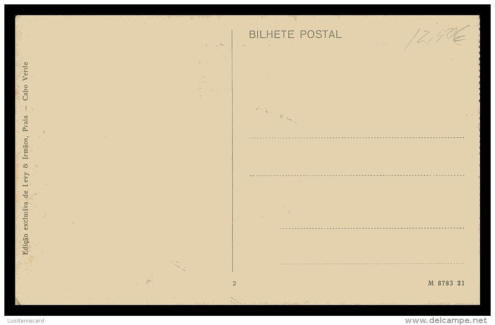 SANTIAGO - PRAIA - Ponte E Ilheu De Santa Maria  ( Ed. Exc. Levy & Irmãos Nº 2)   Carte Postale - Cap Vert