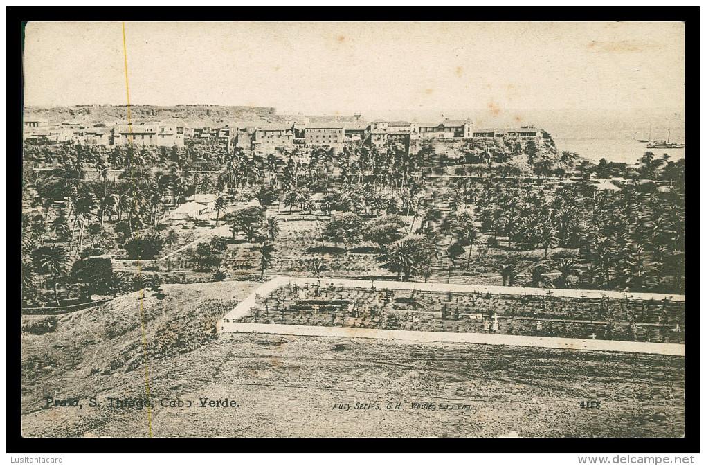 SANTIAGO - PRAIA - ( Ed. Hauty Series G.H. Whitley Bay Nº 4188)l   Carte Postale - Cap Vert