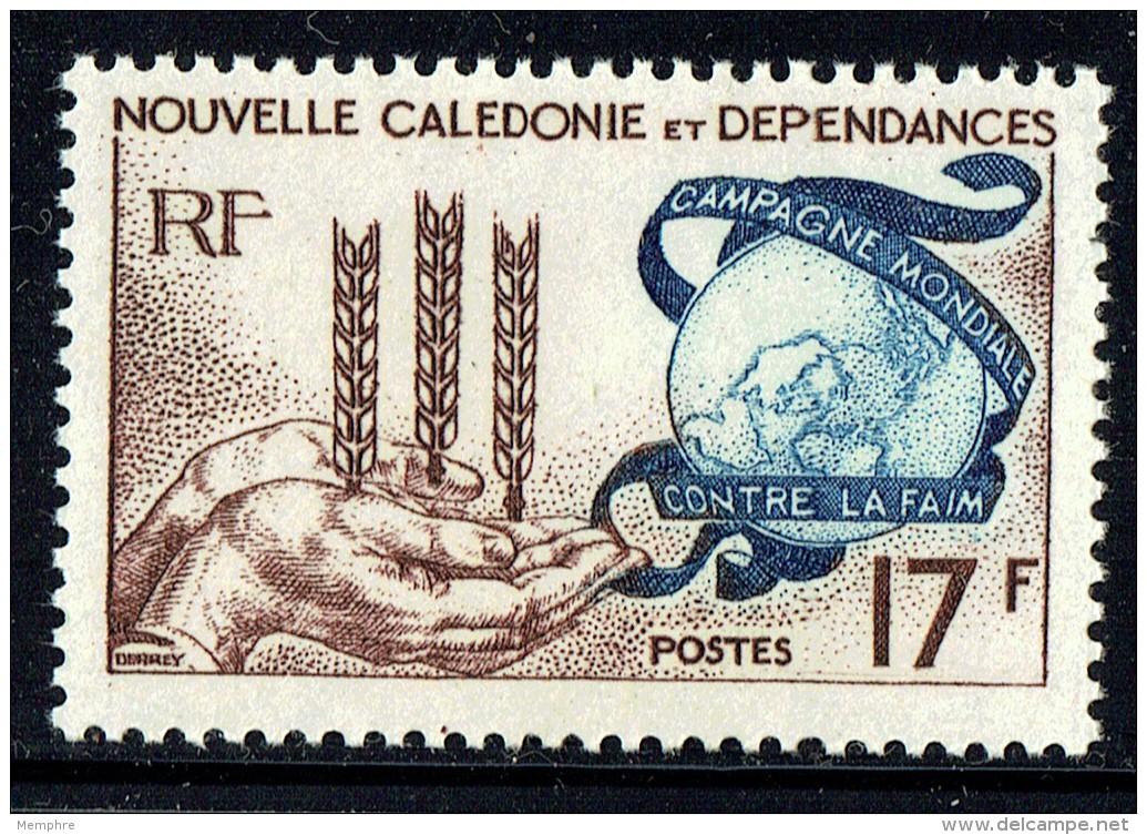 1963  Campagne Mondiale Contre La Faim  Yv 307  ** - Neukaledonien