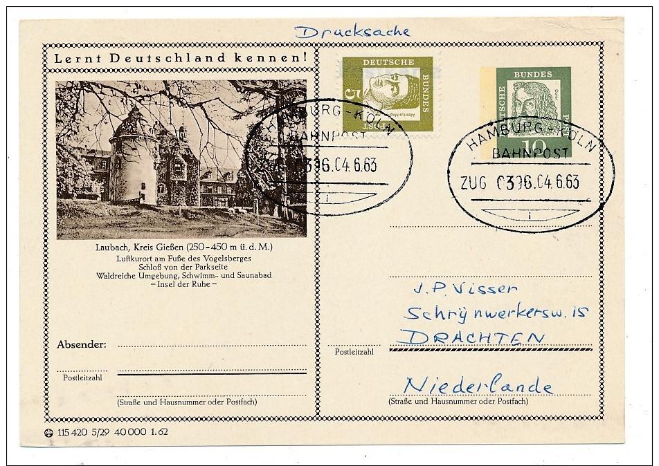 Bahnpost -Stempel Beleg    ( Ze2480  ) Siehe Foto - Briefe U. Dokumente