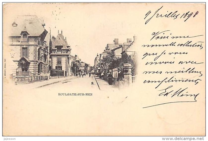CALVADOS  14   HOULGATE SUR MER  PIONNIERE 1898 - Houlgate