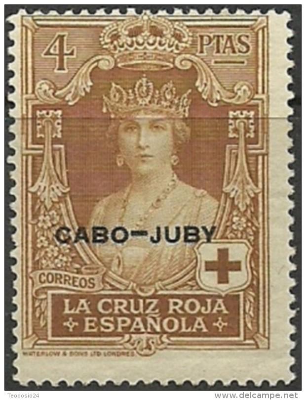 ESPAÑA 1926 COLONIAS CABO JUBY Mi:ES-CJ 35, Yt:ES-CJ 35, Edi:ES-CJ 37 * Mh - Cape Juby