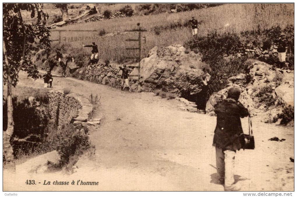 LA CHASSE A L´HOMME BANDIT CORSE GENDARME - France