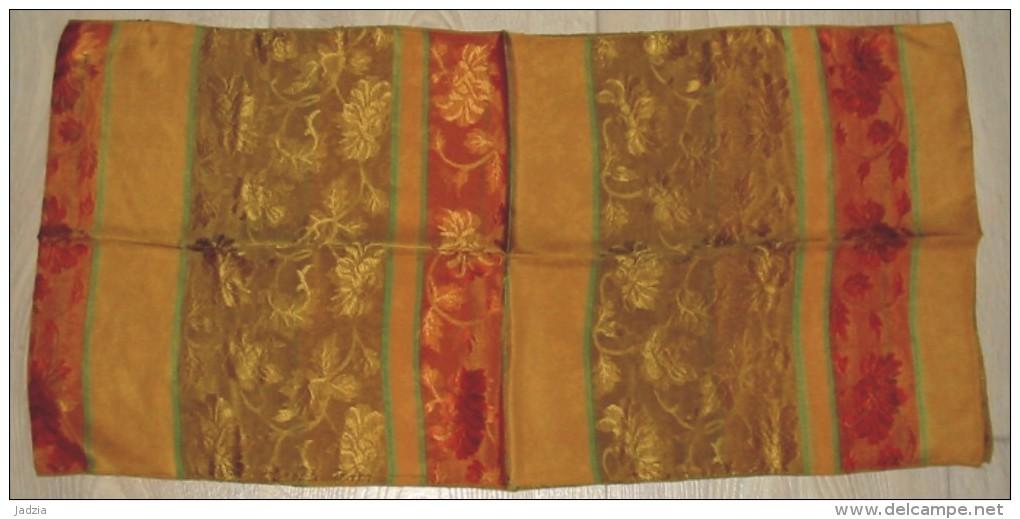 Foulard  Motif Fleurs 1.40 M X 35 Cm Neuf  60% Soie 40% Acétate - Scarves