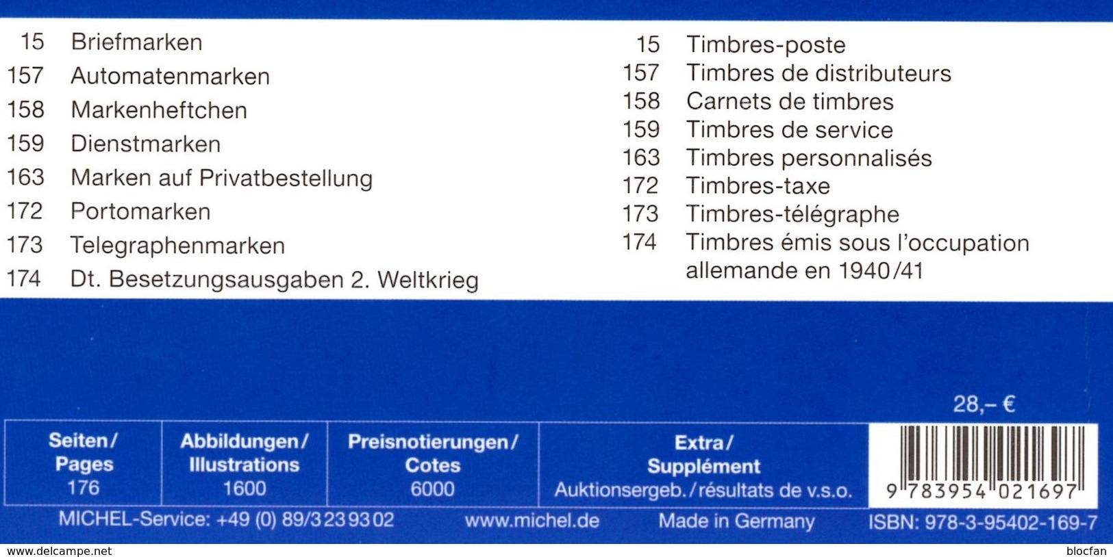 MICHEL/PRIFIX Luxemburg Briefmarken Katalog 2017 Neu 28€ Spezial: ATM MH Dienst Porto Besetzungen In Deutsch/franzö - Literatur & Software