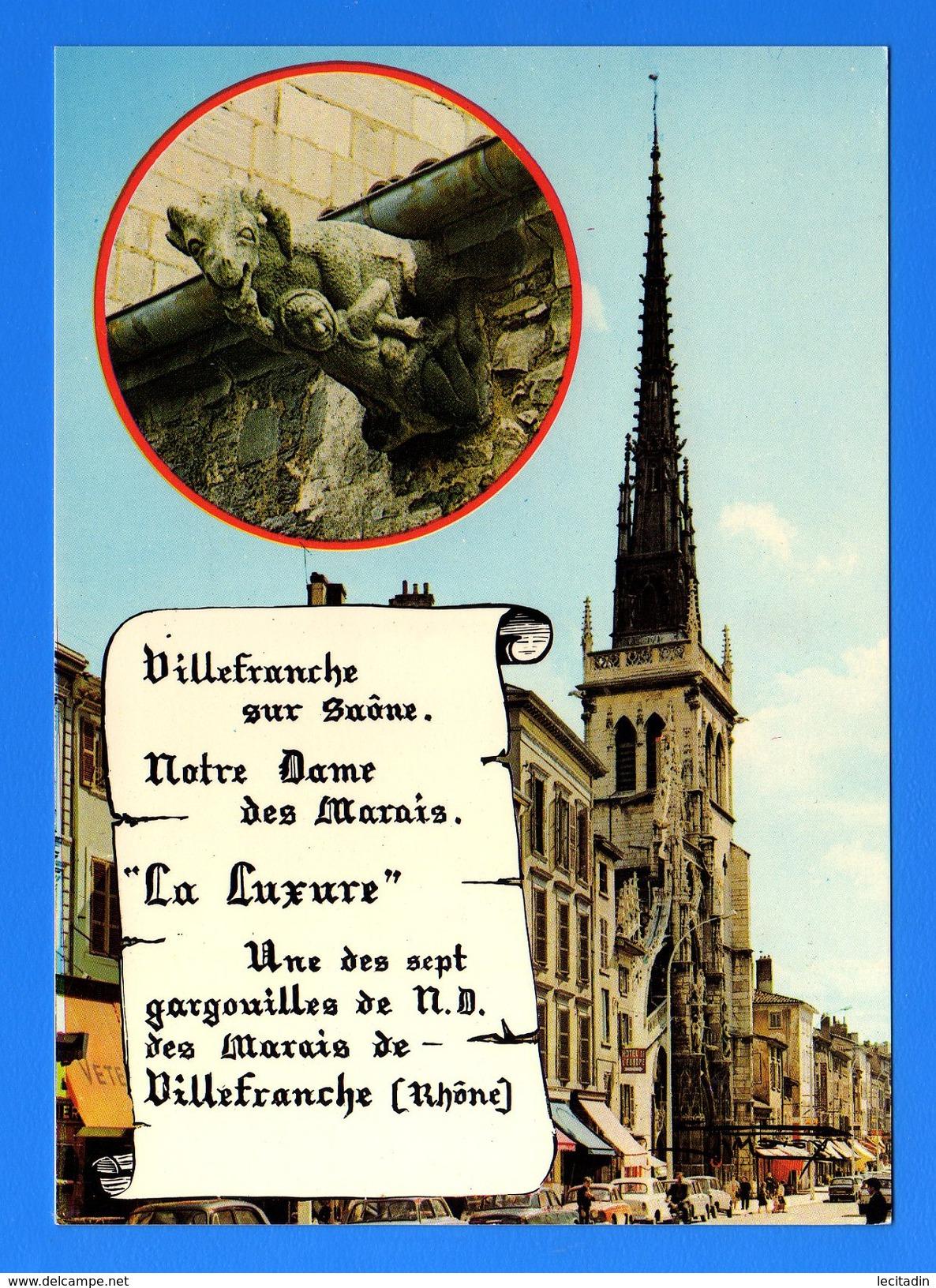 CP31 60 VILLEFRANCHE SUR SAONE 142 - Villefranche-sur-Saone