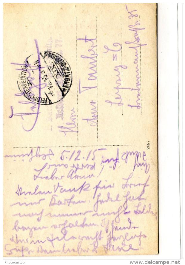 RICHEVAL-Reichenthal-CARTE PHOTO Allemande-Guerre 14-18-1 WK-FRANCE-57-Feldpost- - Autres Communes