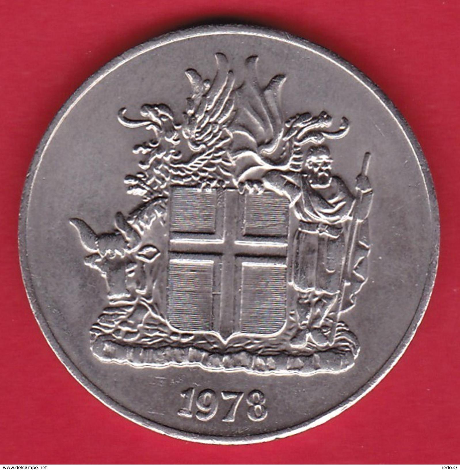 Islande - 10 Kr 1972 - Islandia