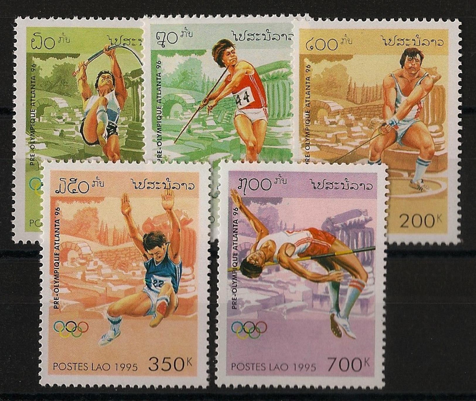 Laos N°Yv. 1173 à 1176 - Complet - Neuf Luxe ** - MNH - Postfrisch - Cote 6 EUR - Ete 1996: Atlanta
