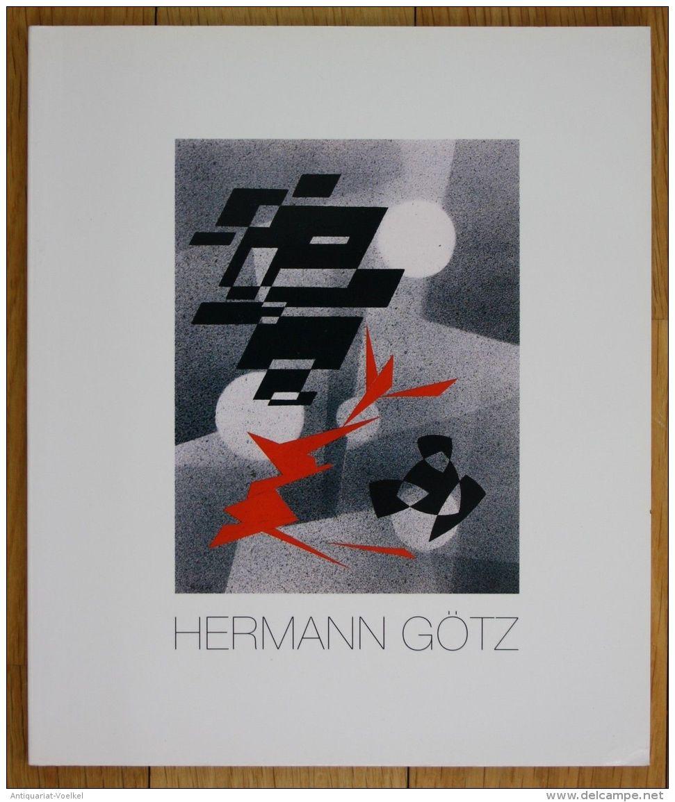 Hermann Götz 1901 - 1975 Lyrische Abstraktionen Ausstellung Katalog - Bücher, Zeitschriften, Comics