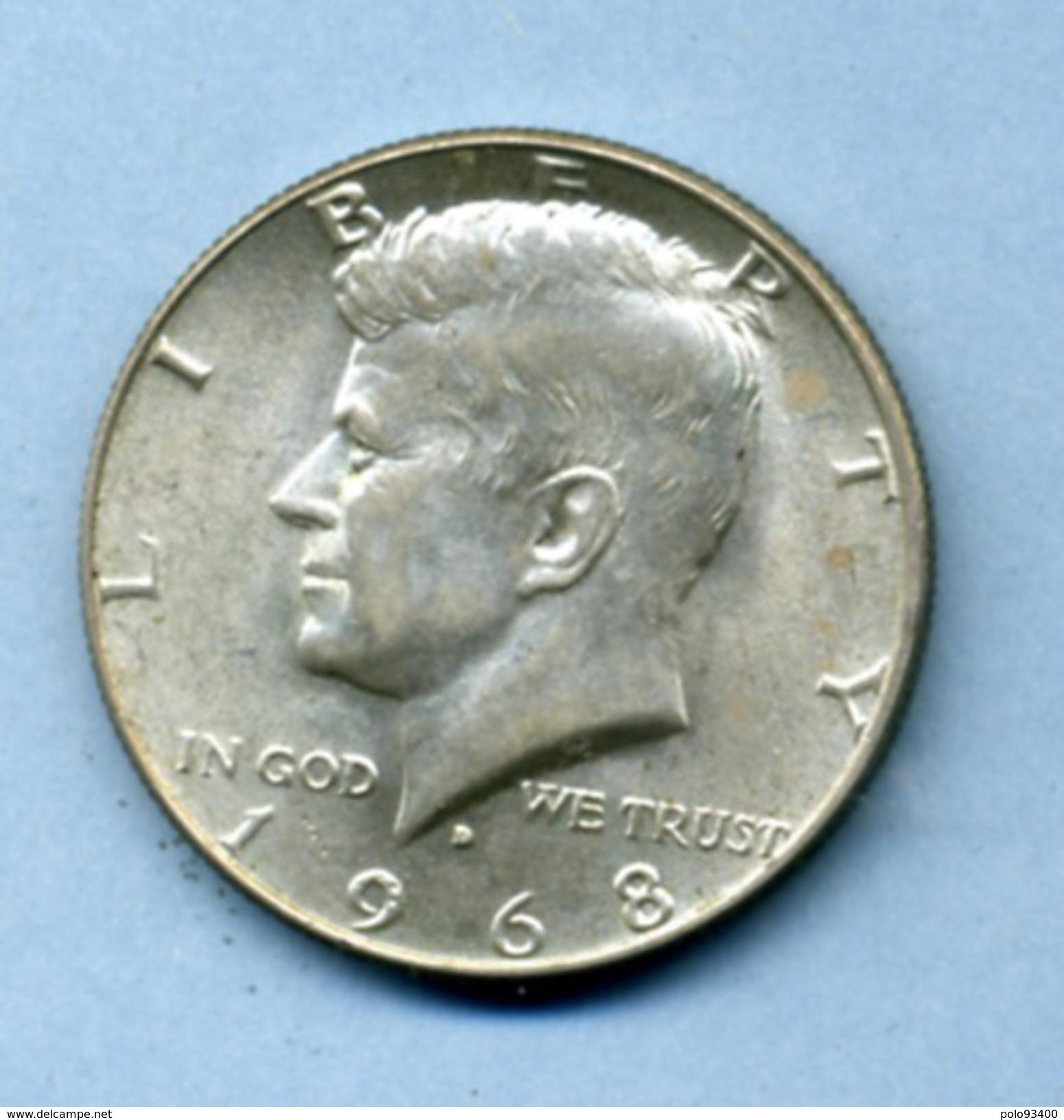 1968 1/2 DOLLAR SILVER - 1964-…: Kennedy