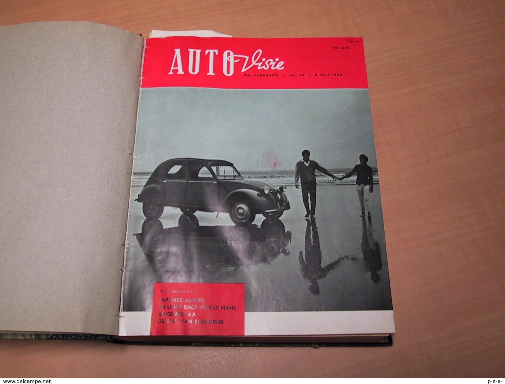 Tijdschrift Auto-visie 1960 Ingebonden - Revistas & Periódicos