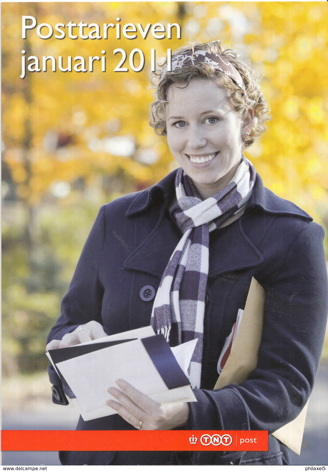 Nederland - TNT Post - Brochure Tarievenlijst Januari 2011 - 6 Pagina's - Nieuw Exemplaar - Tarifa De Correos
