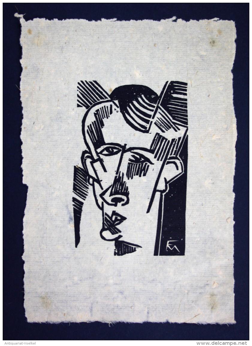 Heinar Schilling -- Original Holzschnitt Auf Handgeschöpftem Faserigen Japanpapier. - Nicht Bei Söhn!!! (Vgl. Söhn 130) - Stiche & Gravuren
