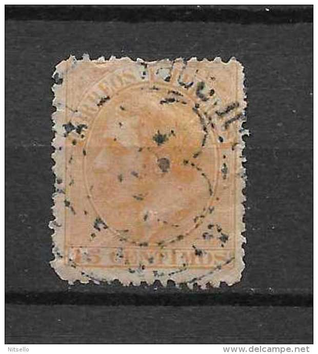 LOTE 901   ///    ESPAÑA  1882      EDIFIL Nº: 210  MATASELLO DE TREBOL - 1875-1882 Königreich: Alphonse XII.