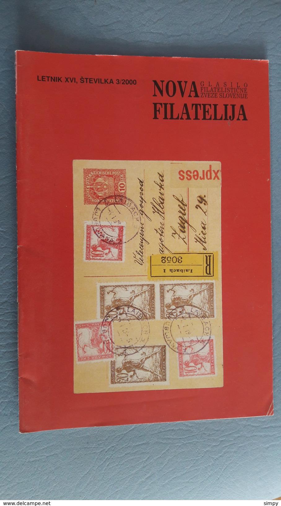 Slovenia - Philatelic Bulletin Nova Filatelija 3/2000 - Zonder Classificatie