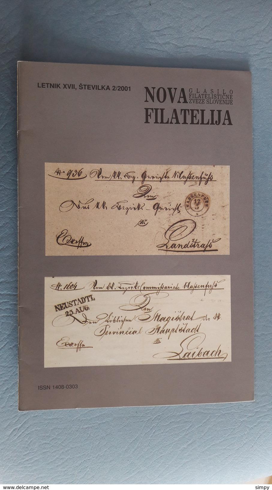 Slovenia - Philatelic Bulletin Nova Filatelija 2/2001 - Letteratura