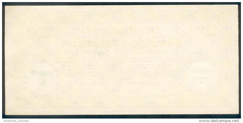 Deutschland, Germany - 5000 Reichsmark, Steuergutschein I, Ro. 721b, 1940 ! - Zonder Classificatie
