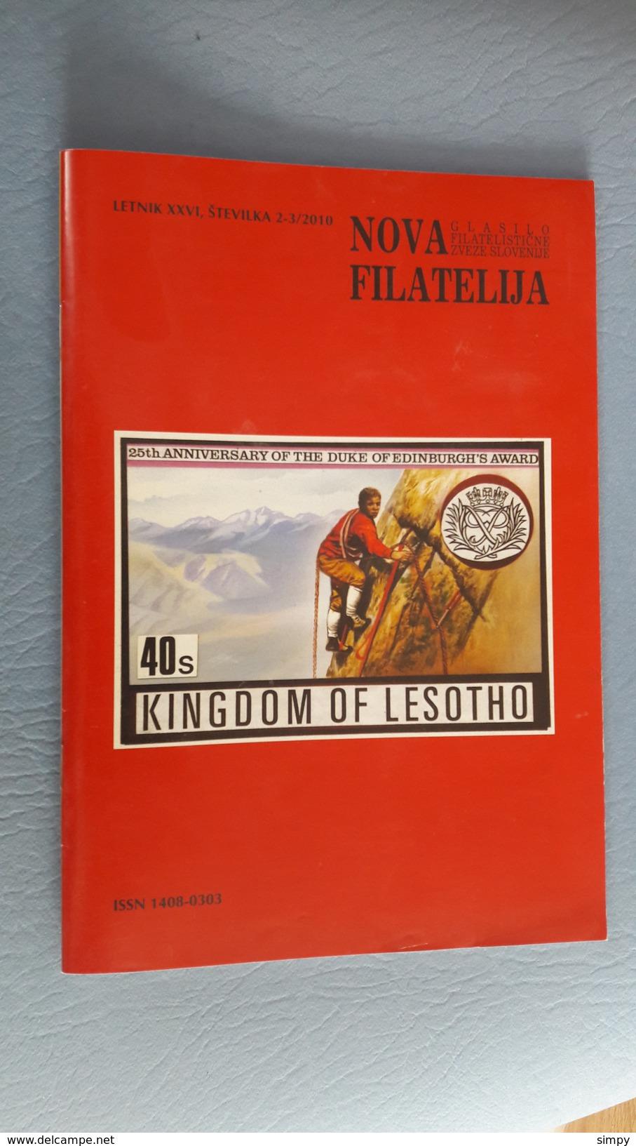 Slovenia - Philatelic Bulletin Nova Filatelija 2-3/2010 - Letteratura