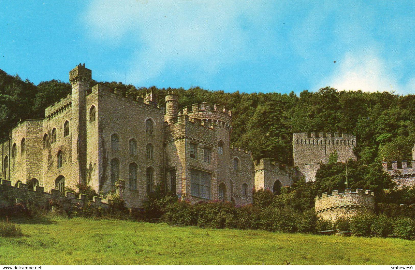 Postcard - Gwrych Castle, Caernarvonshire. PT23683 - Caernarvonshire