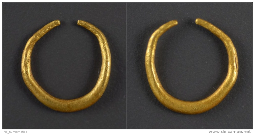 Celtic Britain Gold Ring Money - Gauloises