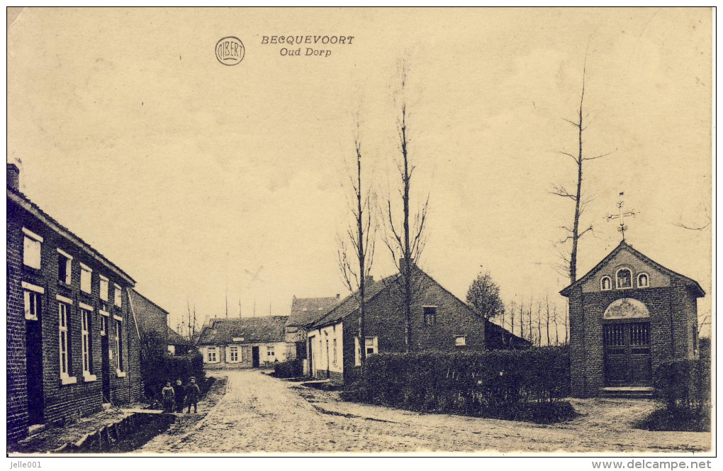 Becquevoort Bekkevoort Oud Dorp 1931 - Bekkevoort