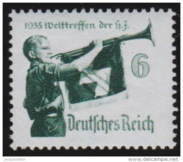 Deutsches  Reich   .   Michel      .   584        .       **   .       Postfrisch   .     /    .    MNH - Deutschland