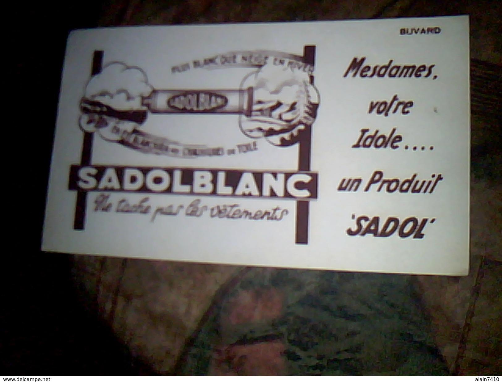 Buvard Publicitaire Produits Veterinaires Sado A Ablis - Buvards, Protège-cahiers Illustrés