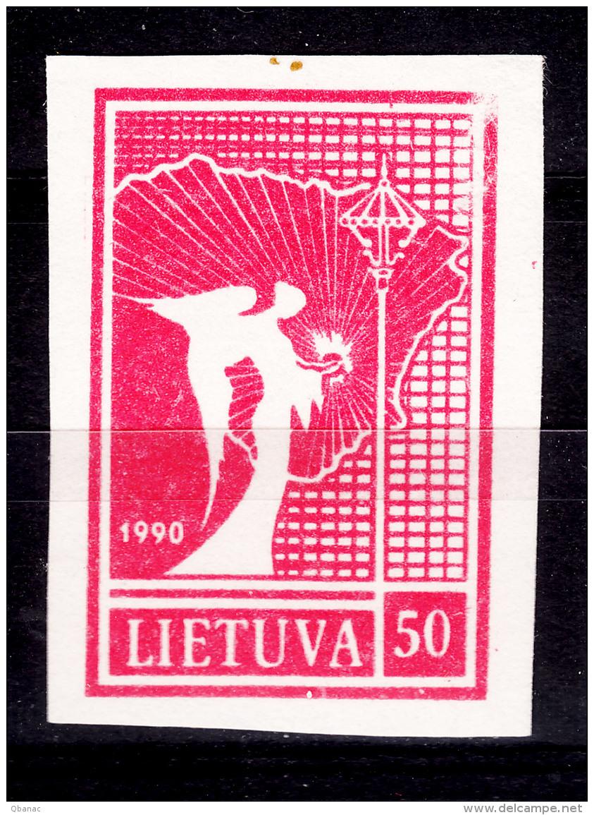 Lithuania Litauen 1990 Mi#460 Mint Never Hinged - Lithuania