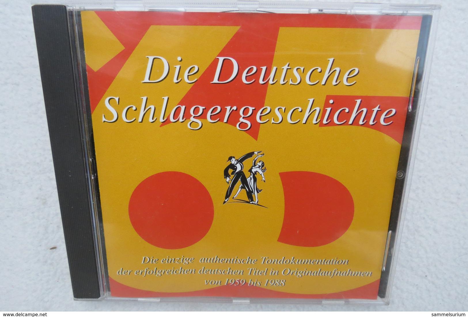 """CD """"Die Deutsche Schlagergeschichte 1965"""" Authentische Tondokumentation Erfolgreicher Dtsch. Titel Im Original 1959-1988 - Musik & Instrumente"""