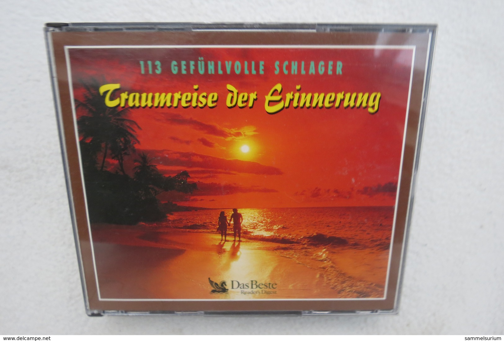"""3 CDs """"Traumreise Der Erinnerung"""" 113 Gefühlvolle Schlager - Sonstige - Deutsche Musik"""