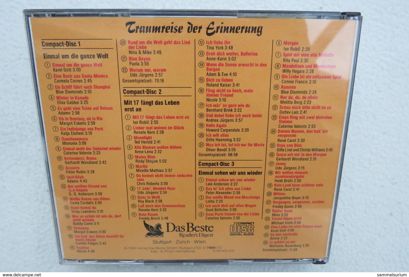 """3 CDs """"Traumreise Der Erinnerung"""" 113 Gefühlvolle Schlager - Musik & Instrumente"""