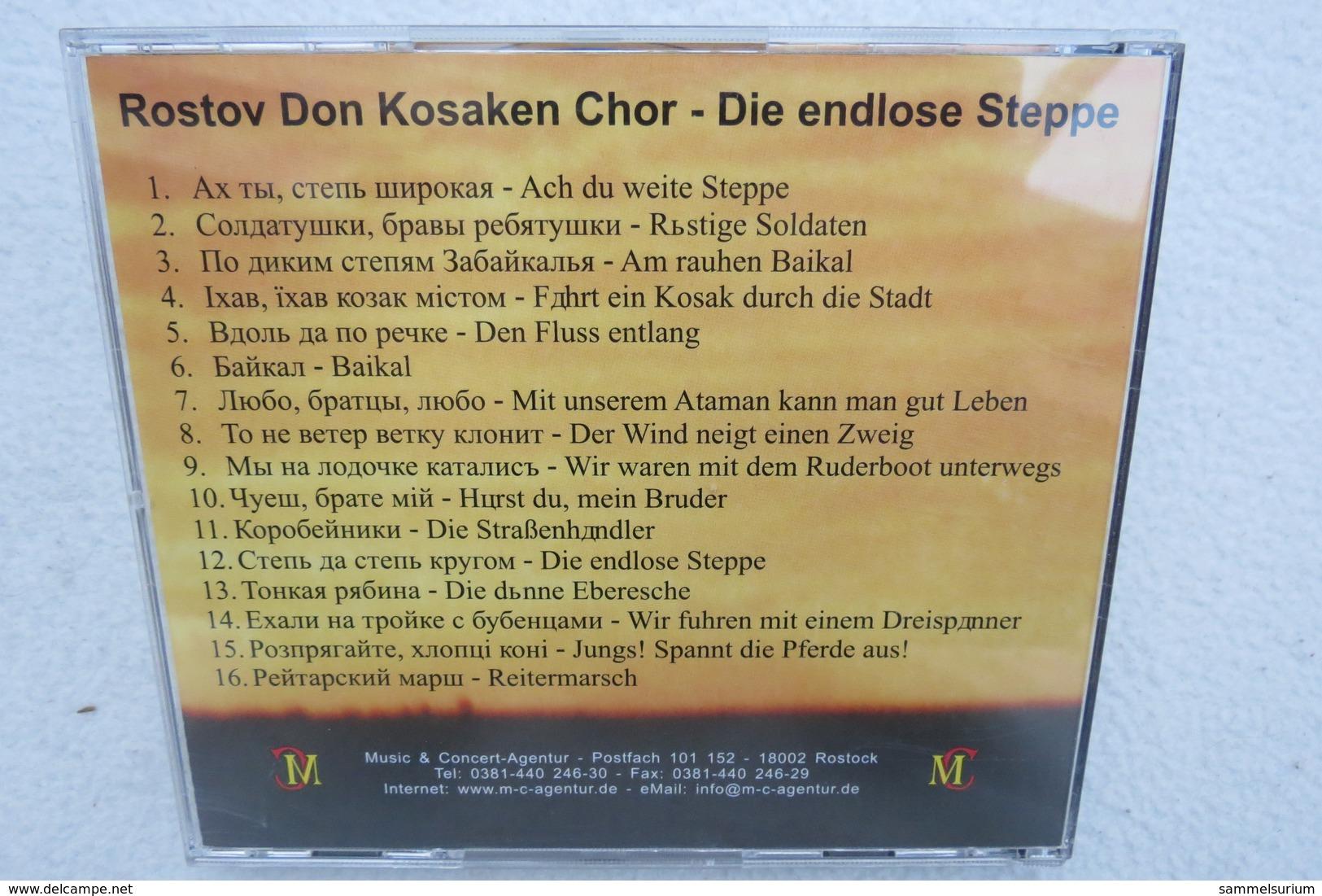 "CD ""Der Rostov Don Kosaken Chor"" Die Endlose Steppe - Oper & Operette"