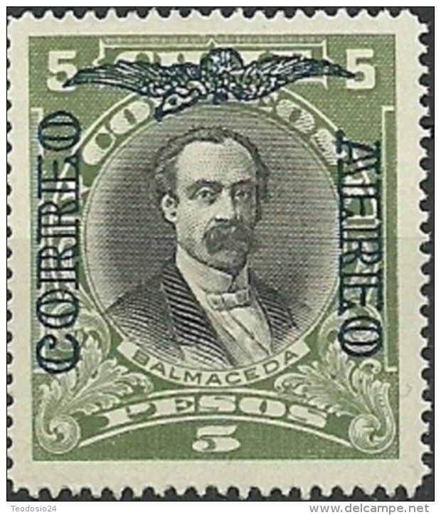 CHILE CORREO AEREO 1928 MNH ** Mi:CL 167, Sn:CL C6D, Yt:CL PA10 - Chile
