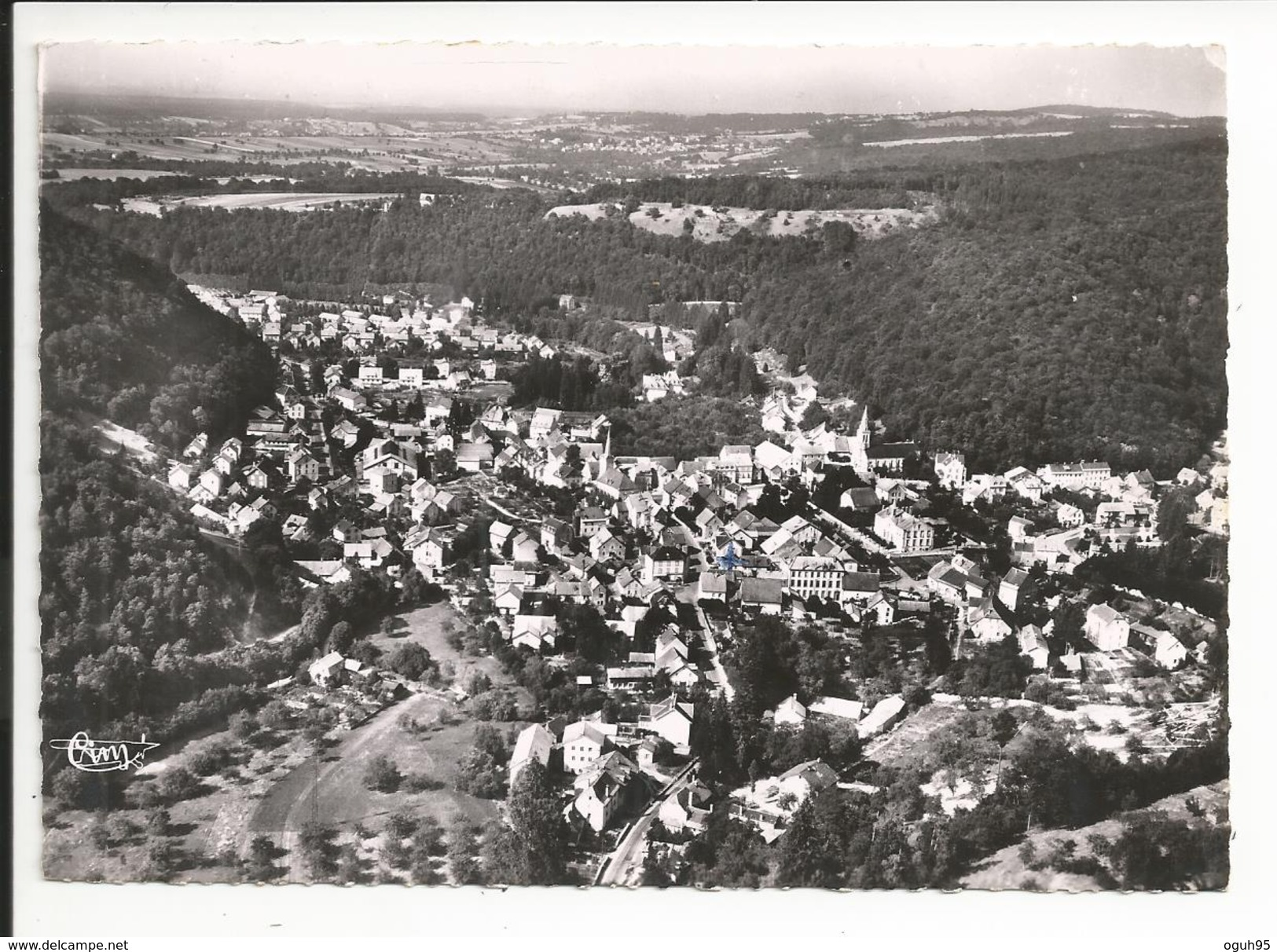 25 - HERIMONCOURT - Vue Panoramique Aérienne - Autres Communes