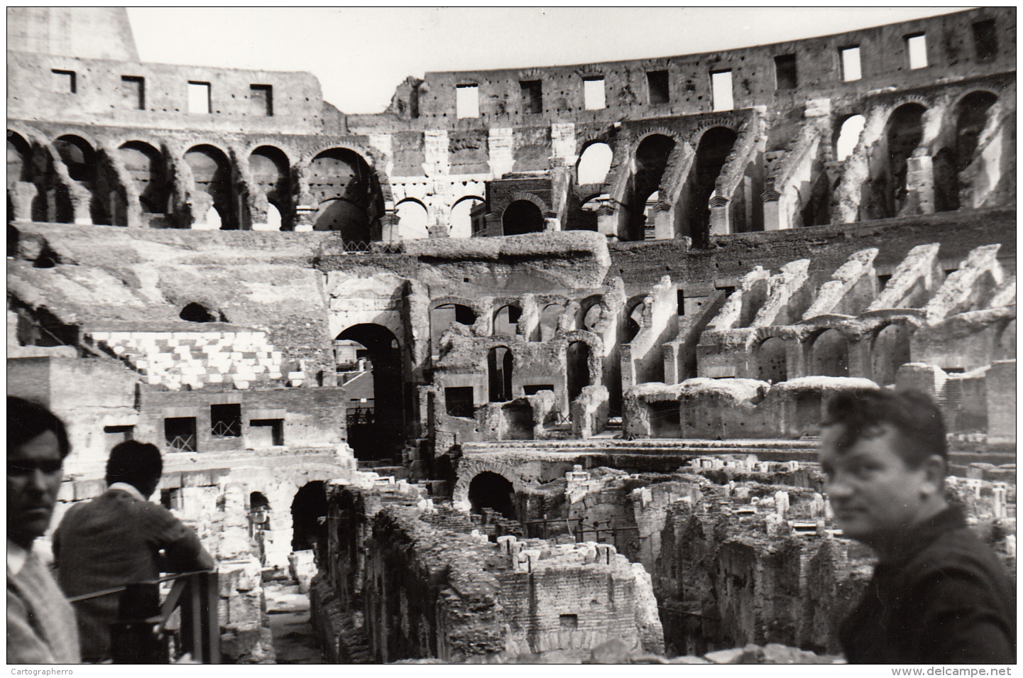Real Photo - Italy 18X12cm Place To Identify  Ruins - Lieux