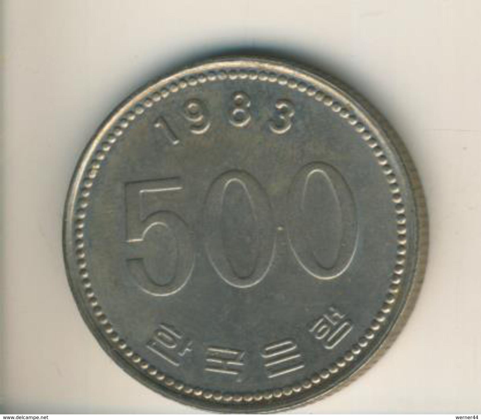 Korea V. 1983  500 Won  (49109) - Korea (Süd-)