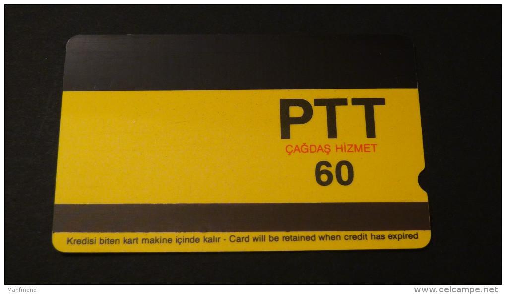 Turkey - Turk Telekom - 1993 - 60 U - Izz:T-16 - Used - Look Scans - Turchia