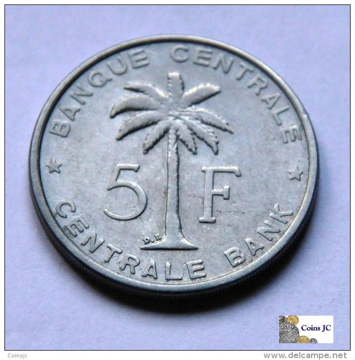 Belgian Congo - 5 Francs - 1956 - 1951-1960: Baudouin I