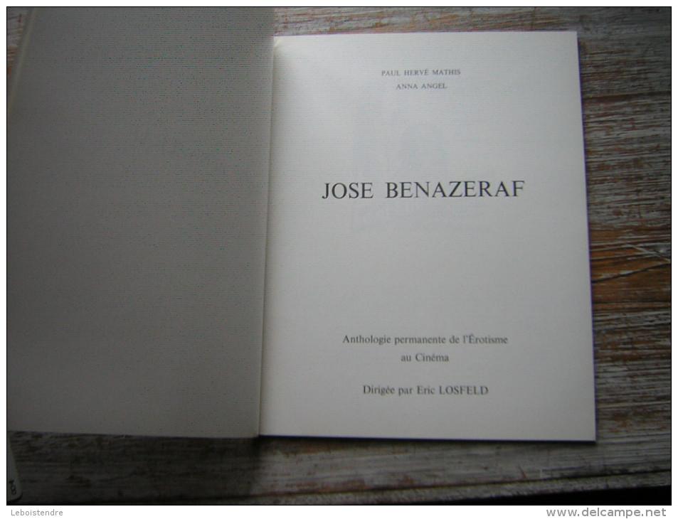 ANTHOLOGIE PERMANENTE DE L'EROTISME AU CINEMA JOSE BENAZERAF - Cinema