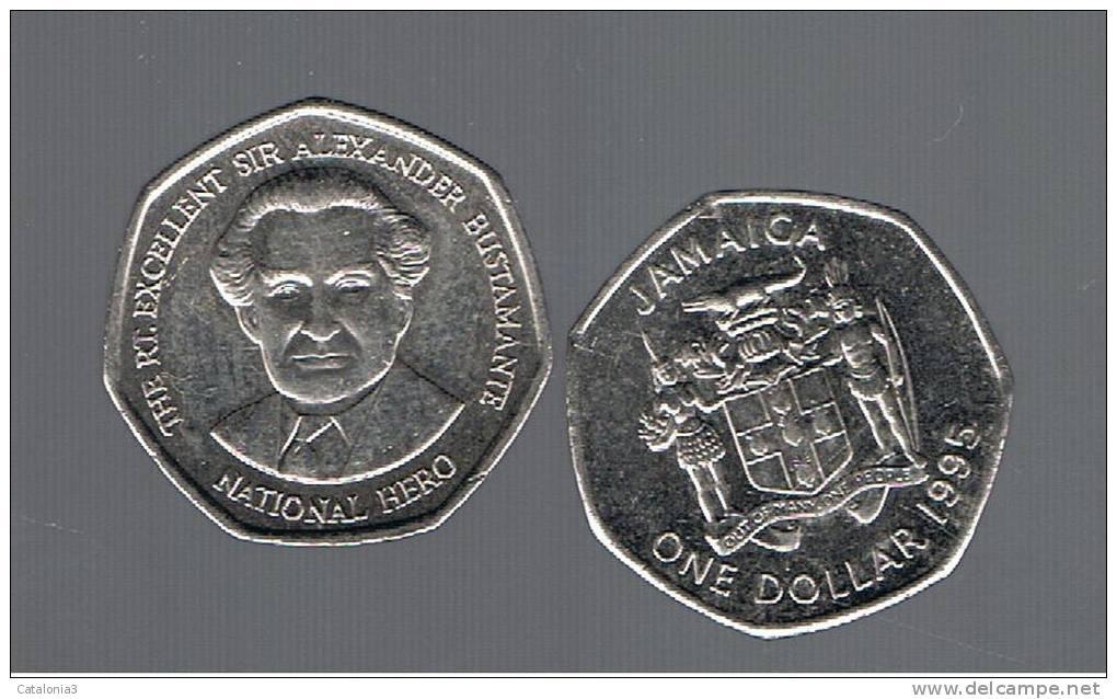JAMAICA -   1 Dolar   1995  KM164 - Jamaica