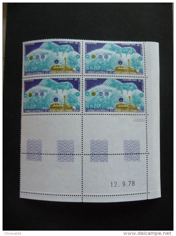 LOT  COLLECTION  TIMBRES  TAAF  COINS  DATES   N  51   POSTE  AERIENNE   NEUFS  LUXE** - Franse Zuidelijke En Antarctische Gebieden (TAAF)