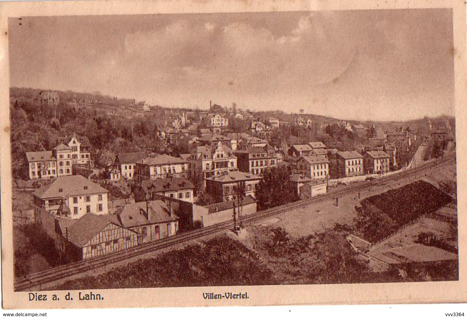 DIEZ A. D. LAHN: Villen-Viertel - Diez
