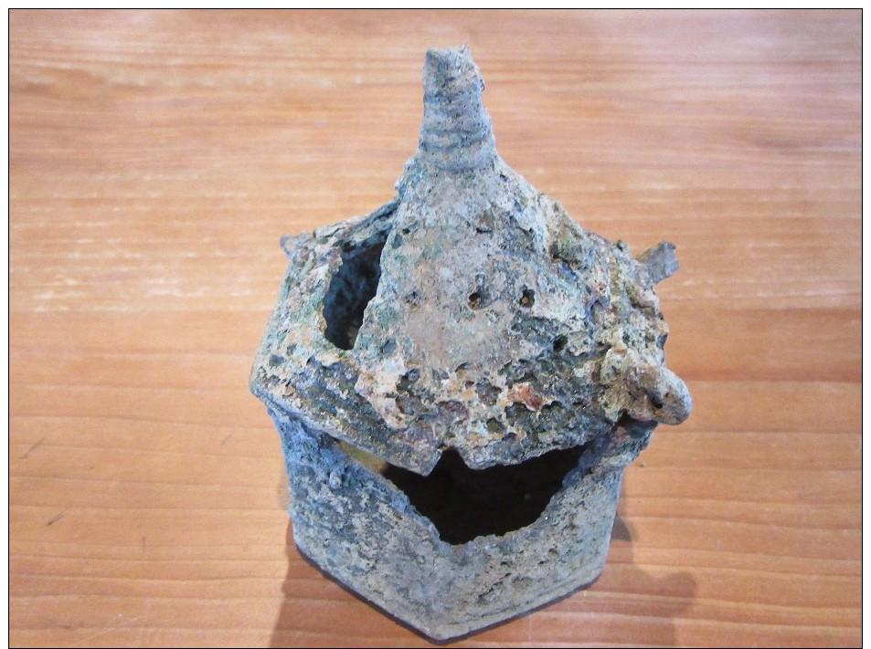 Petit Coffre Bronze ( à Bijoux) Romain - Archéologie