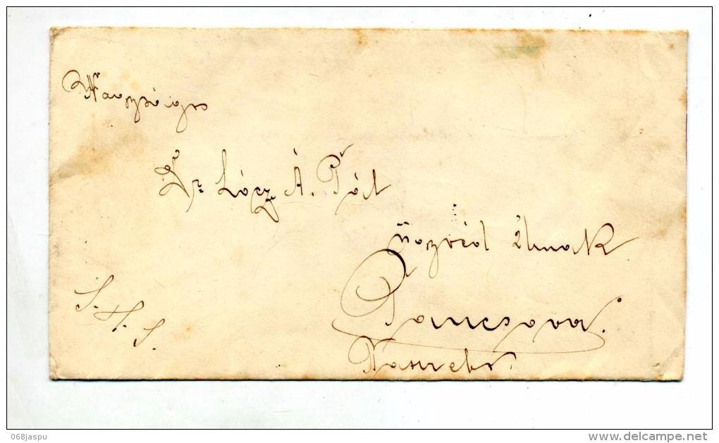 Lettre Cachet ? Sur Ville - Postmark Collection