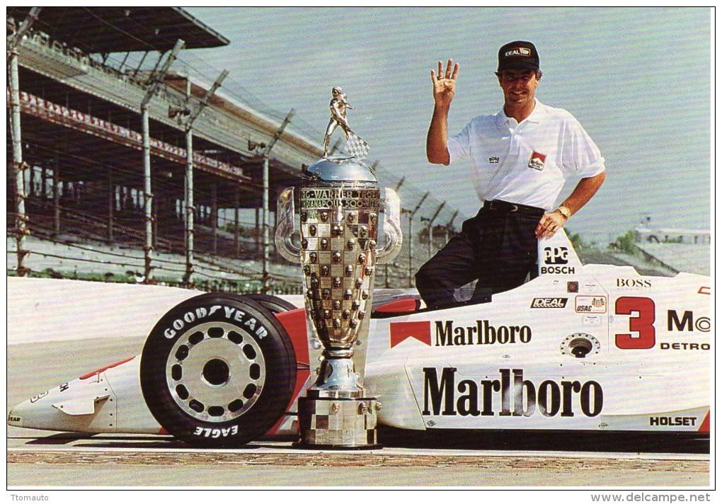 Rick Mears   -  Vainqueur 1991  Indianapolis 500 Miles  -  Carte Postale - IndyCar