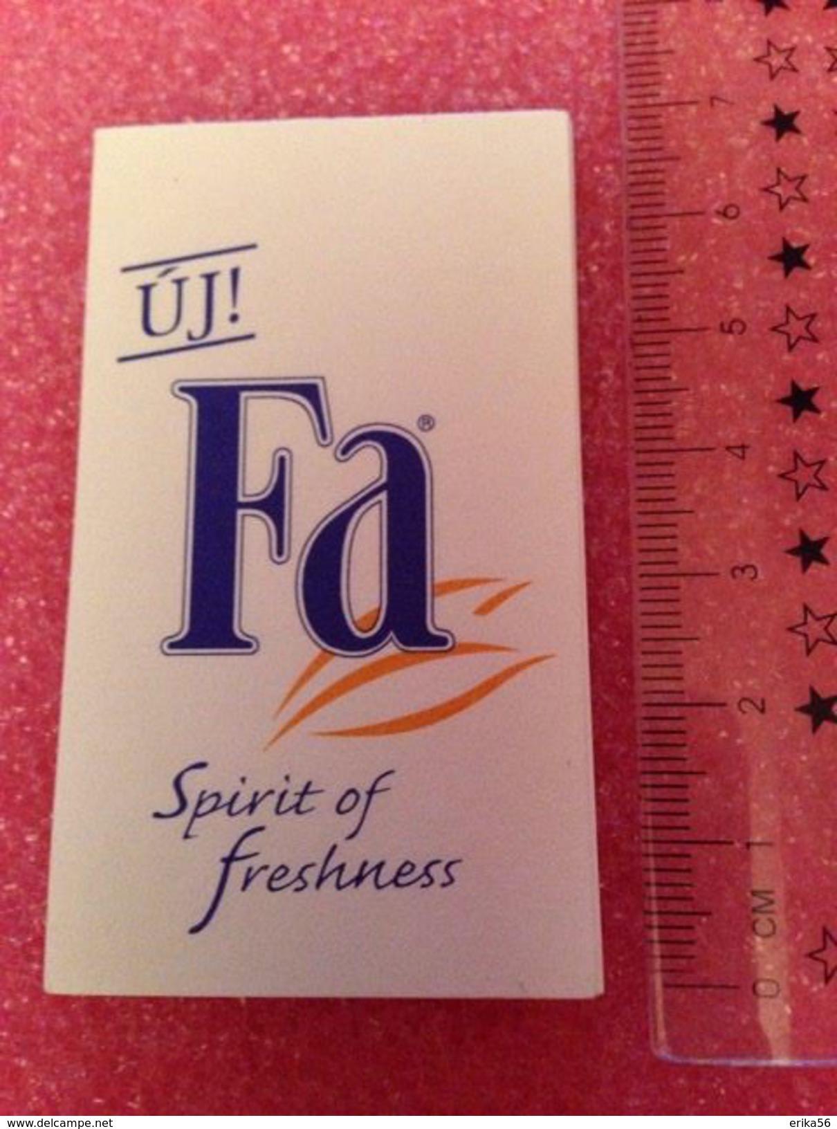 FA Spirit Of Freshness - Hongroise - Duftkarten
