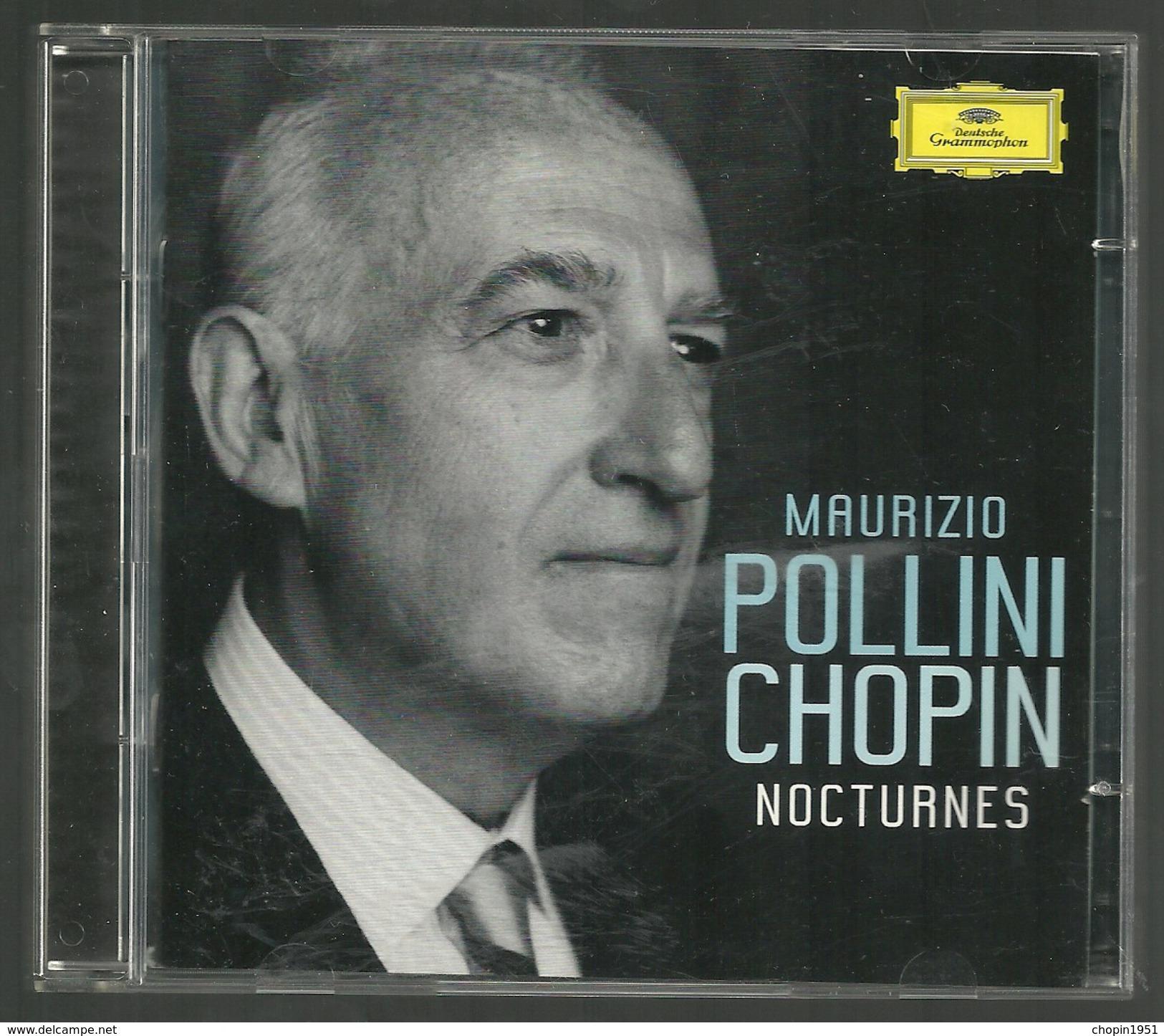CD PIANO - CHOPIN : NOCTURNES (2 CD) - MAURIZIO POLLINI, Piano - Klassik